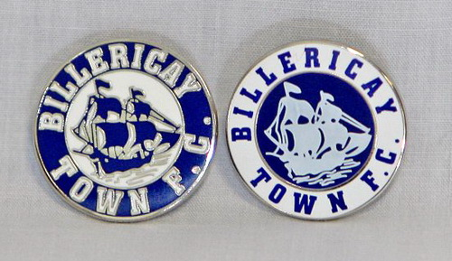 Billericay Town pin badges