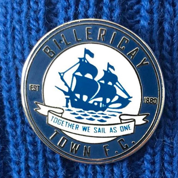 Billericay Town pin badge