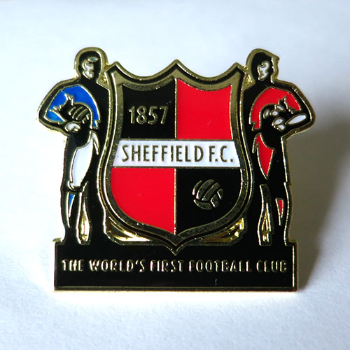 sheffield pin badge значок