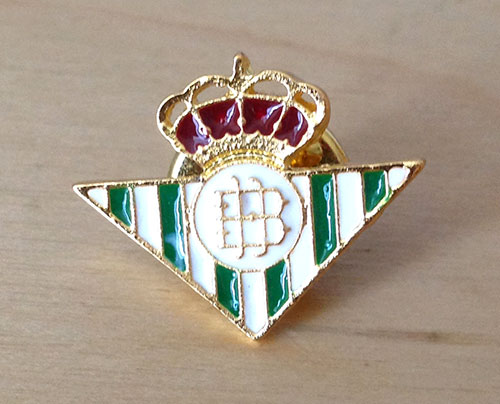 Real Betis Balompié pin значок бетис