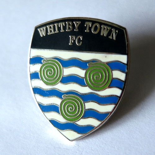whitby town pin badge значок