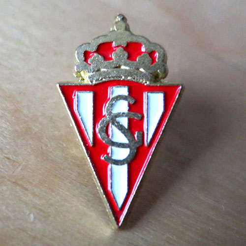 sporting gijon pin