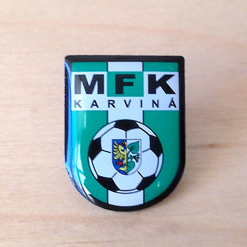karvina mfk значок Карвина