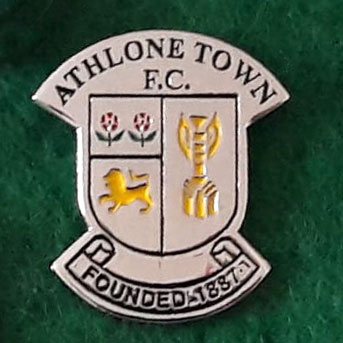 athlone town pin