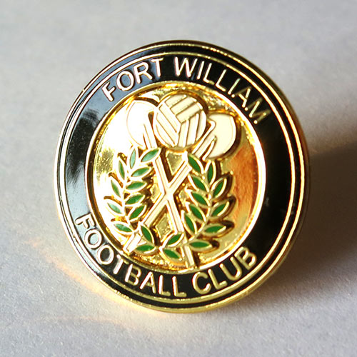 fort william fc pin badge значок