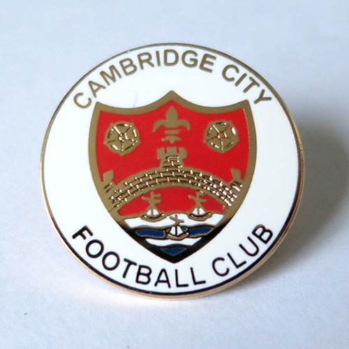 cambridge city pin badge значок Кембридж Сити