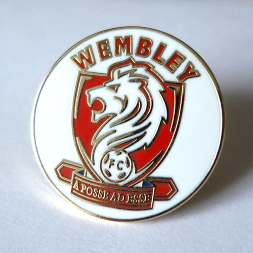 wembley pin badge значок