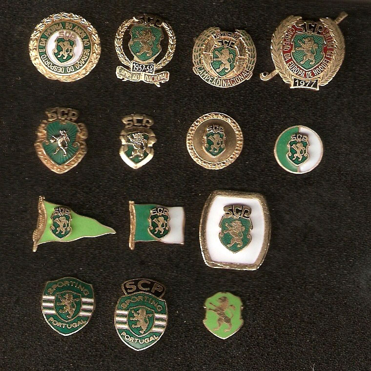 sporting pins collection